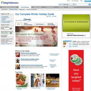 Holiday Guide Screenshot