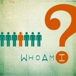 People graphics with question mark