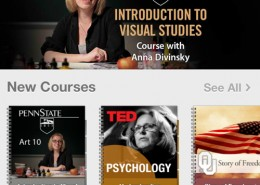 Visual Studies iTunes Store