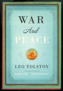 War and Peace Original Book Cover