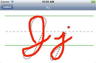 Practice lettering screenshot