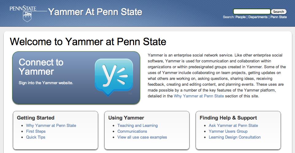Website screenshot detail previous iteration