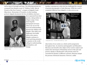 Full iBook page with interactive component in context