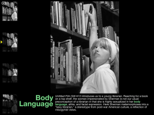 Body language vocab discussed in context