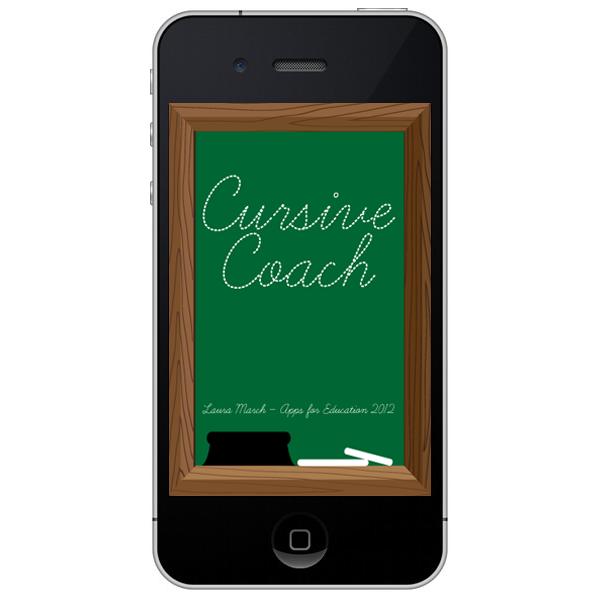Cursive Coach App start page
