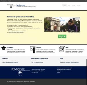 Final Lynda.com Redesign Site