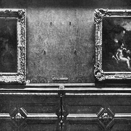 Louvre Wall Stolen Mona Lisa