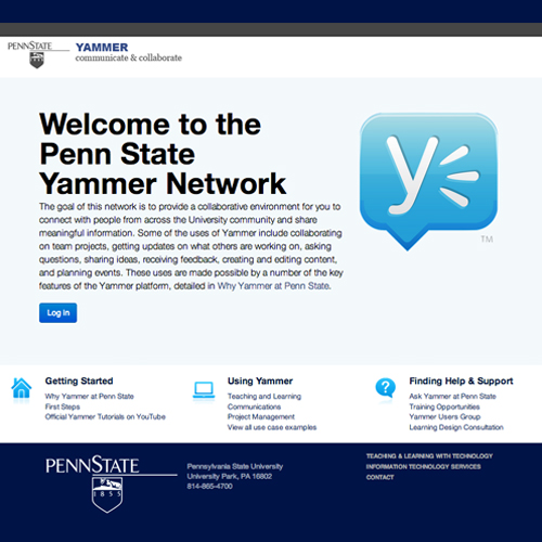 Yammer Screenshot