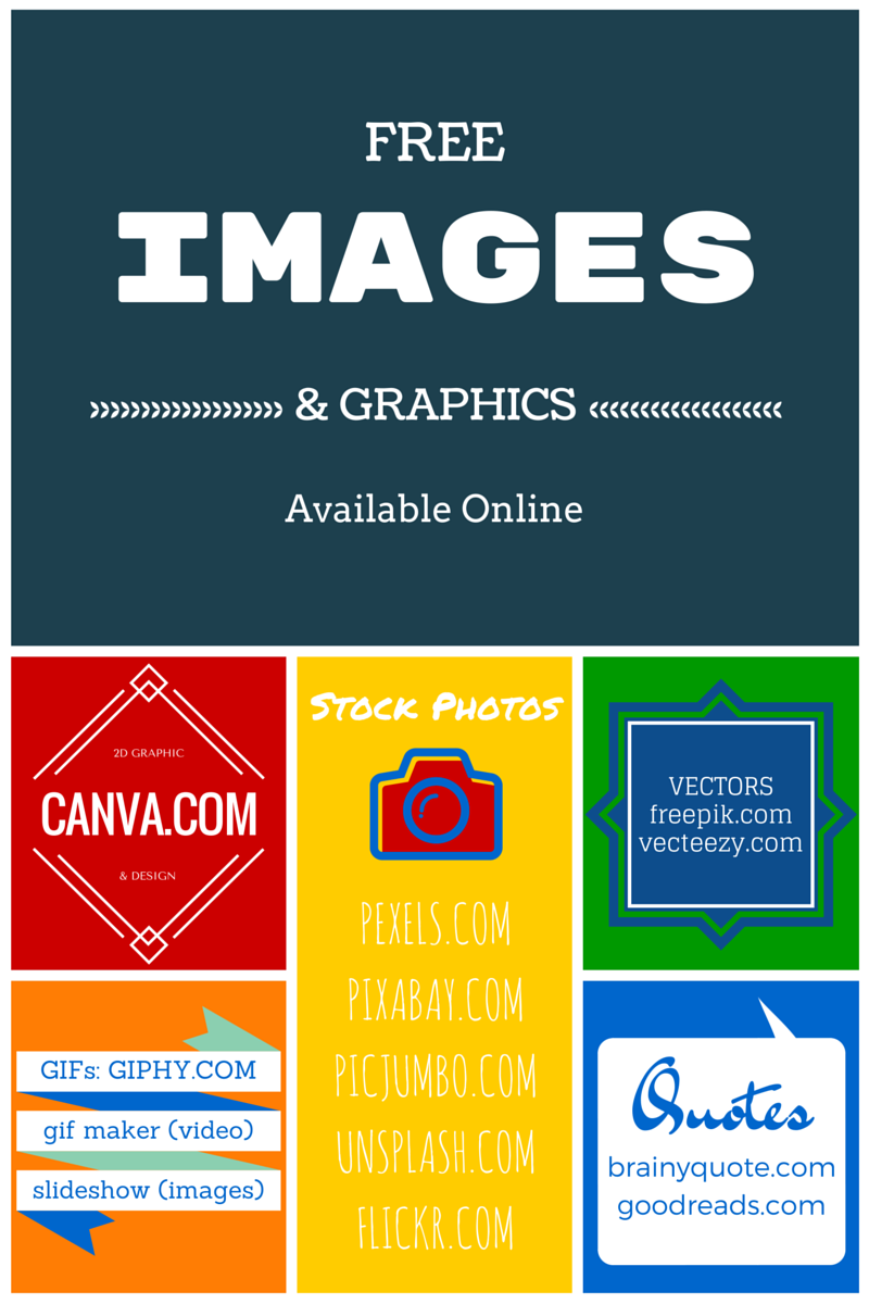 Free Image Resource Handout