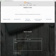 Contact Form Screenshot