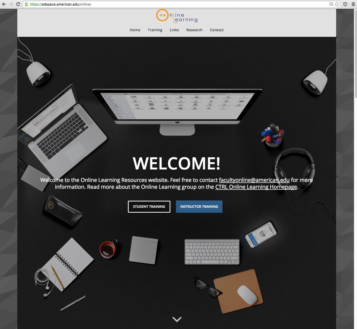 Online Portal Screenshot