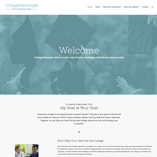 CollegeGateways.com Screenshot