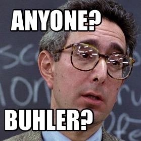Buhler boring lecture meme