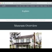 Boalsburg Explore page screenshot
