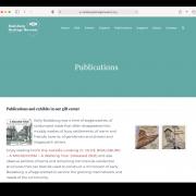 Boalsburg Publications page screenshot